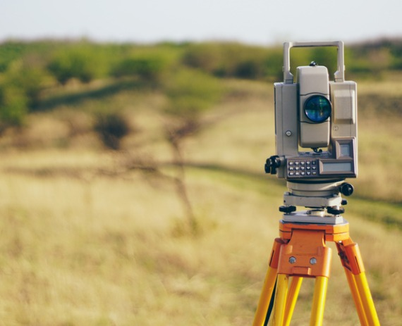 Equipment of a Property Surveyor in Joliet IL